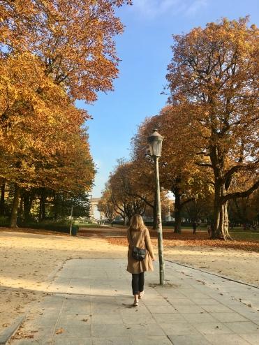 Autumn in the Parc du Cinquantenaire/@dariasdiaries