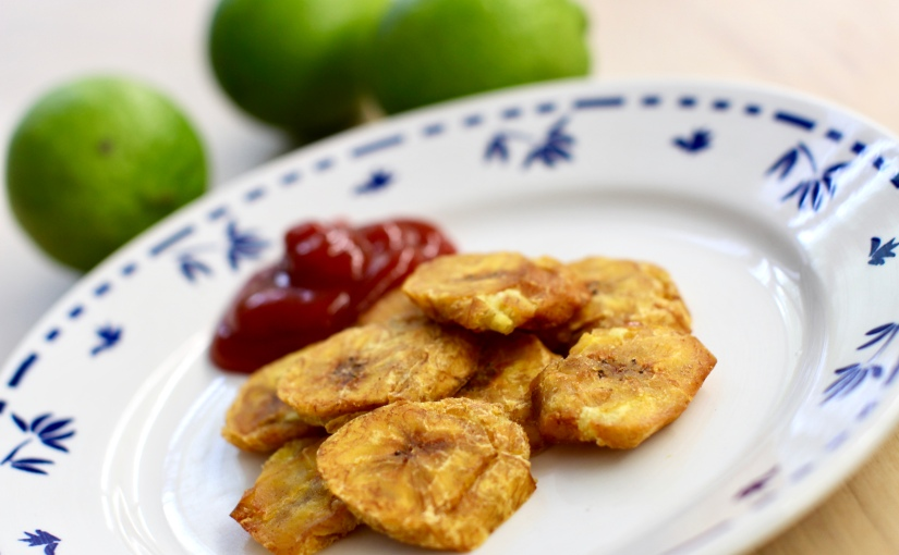 Dominican Tostones – fried plantain chips recipe