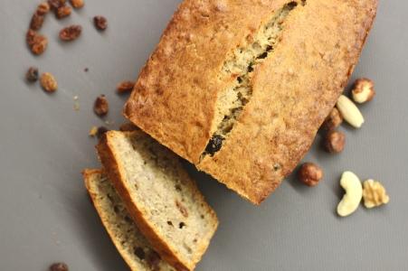 Slices of fresh banana bread/©dariasdiaries