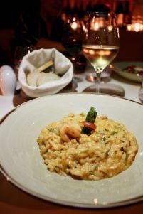 Seafood & asparagus risotto/©dariasdiaries
