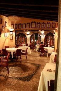 Inside the restaurant/©dariasdiaries