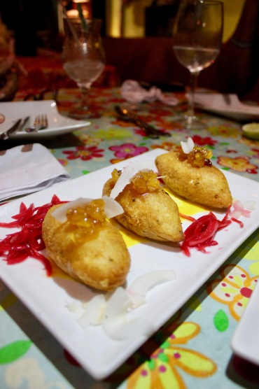 Most of the Dominican dishes are fried/©dariasdiaries