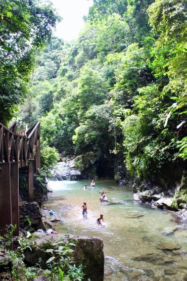 Swimming in the river/©dariasdiaries